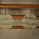 Boucles d'oreilles musique