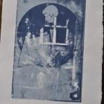 Sérigraphie  numérotée Papeterie de Pérouges