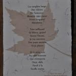 Texte imprimé Chanson d'Automne
