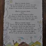 Texte imprimé Le Chant de la vie