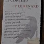 Texte imprimé Le Corbeau et le Renard