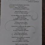 Texte imprimé Le Pont Mirabeau