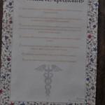 Texte imprimé Serment des Apothicaires