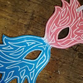 Masque de Mardi Gras
