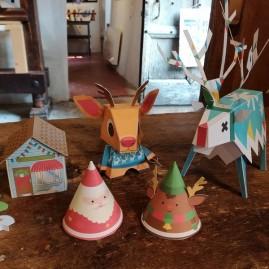 Décorations de Noël en Papercraft