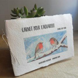 Carnet aquarelle Rouges gorges