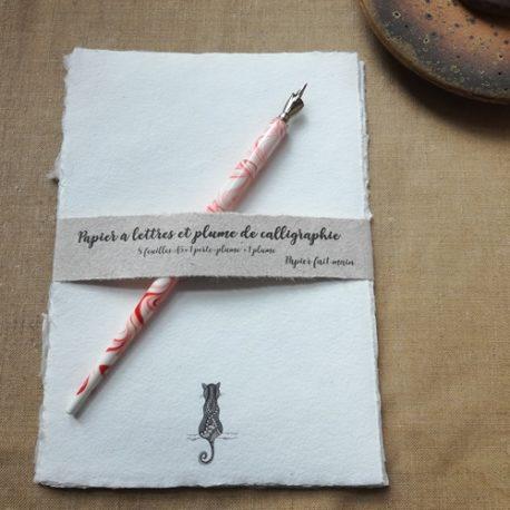 Papier à lettres Le Chat