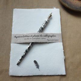 Papier à lettres La Plume