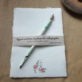 Papier à lettres Le Héron