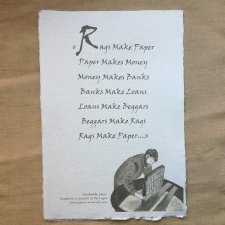 Rags make paper