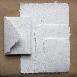 Assortiment de papiers de lin