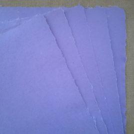 Papier couleur lavande