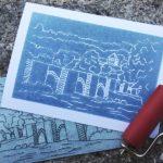 Atelier gravure sur carton